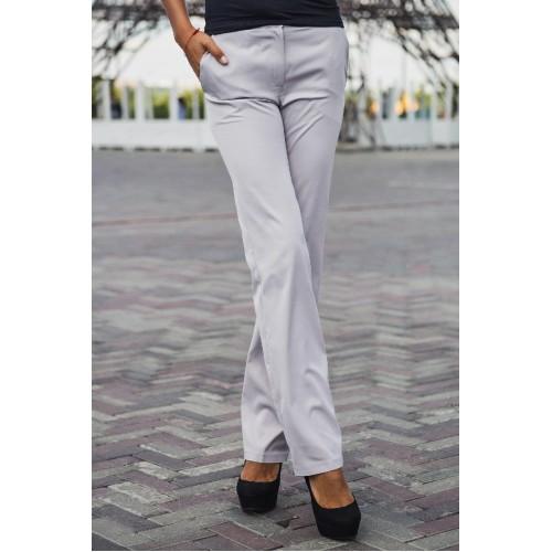 Белые женские брюки клёш