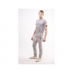 Легкие штаны ason Grey Red and Dog