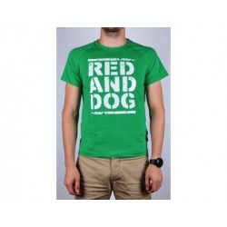 Футболка Heat RND Green Red and Dog