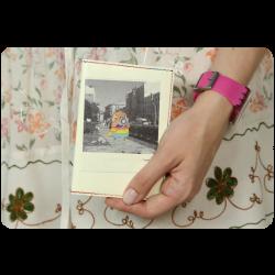 Обложка для паспорта Polaroid + блокнотик