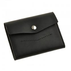 Раскладной черный кошелек