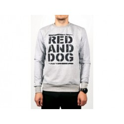 Свитшот Pulse RND Grey Red and Dog