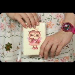 Обложка для паспорта Принц и принцесса + блокнотик