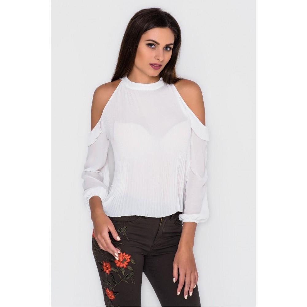 Блузка с открытыми плечами купить