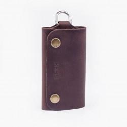 Ключница шоколадного цвета
