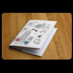 Обложка для паспорта Love story + блокнотик