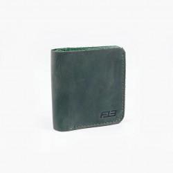 Кошелек  MONEY зеленого цвета