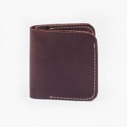 Классический кошелек шоколадного цвета