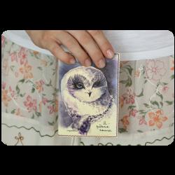 Обложка для паспорта Я - редкая птица + блокнотик