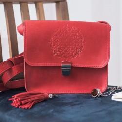 Бохо-сумка Лилу коралл