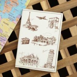 Обложка для паспорта Путешествие в Европу + блокнотик