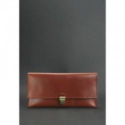 Тревел-кейс кожаный коричневый