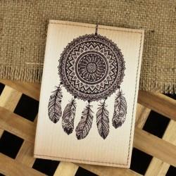 Обложка для паспорта Ловец снов + блокнотик