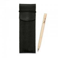 Чехол для ручек 1.0 Графит (+эко-ручка и карандаш)