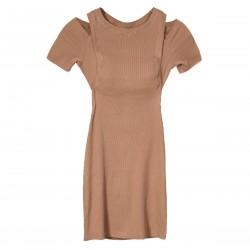 Платье Chloe Hazelnut