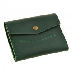 Маленький раскладной кожаный кошелек