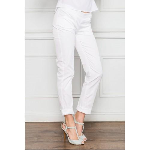 Укороченные женские брюки на лето