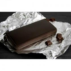 Портмоне 6.0 (на молнии) Шоколад