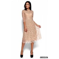 Платье Шанти бежевое