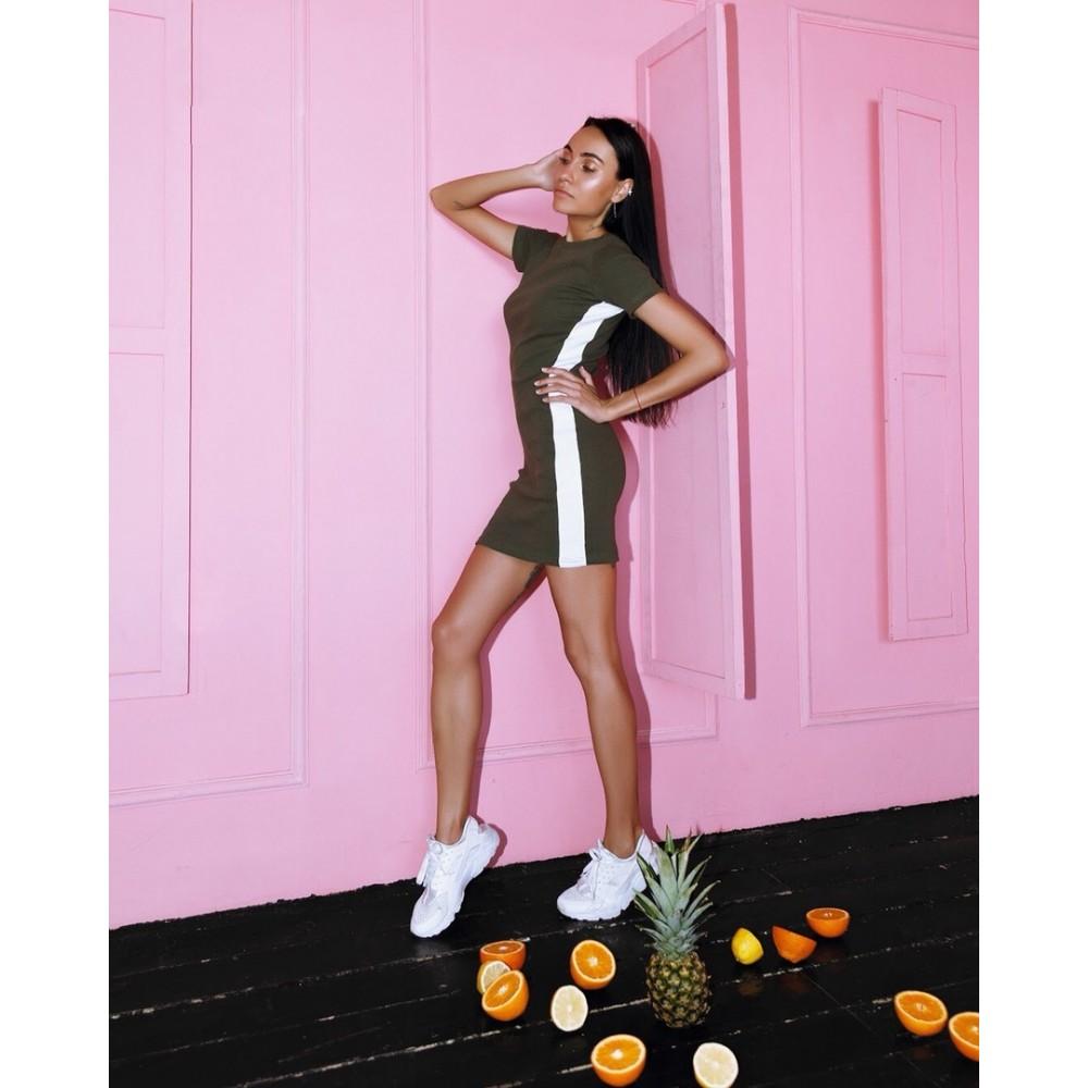 e646b7e400a Платье с лампасами по бокам купить в Украине  Киев