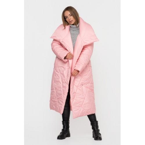 Пуховик одеяло розовый