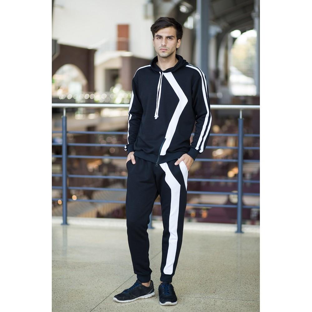 8127921b92d Спортивный костюм чёрно белый купить в Украине  Киев