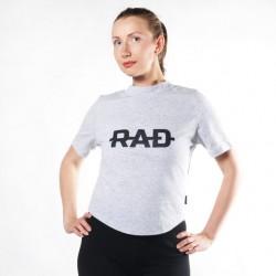 Женская футболка RAD Grey
