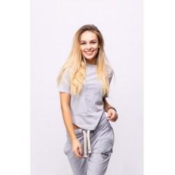 Женская футболка Vert Grey