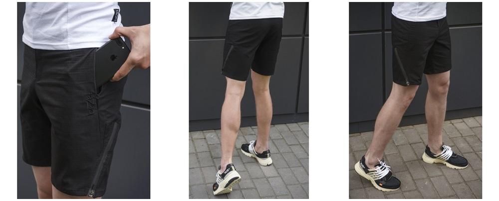 Мужские шорты бермуды  - фото 4