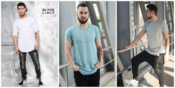 Купить длинную футболку Long мужскую в Украине: Киев ... - photo#27
